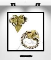 MK0006: Feuille d\'or et d\' argent