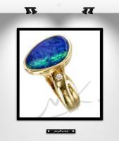 MK0011: Bague or et opale