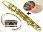 Ref-3029  Bracelet Atlante OR + Purificateur