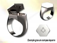 4149-Masonic signet ring with secret