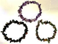 Ref-2622  Bracelet multi-pierres véritable