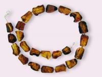 Ref-1704  Collier ambre pièce unique