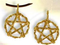Ref-2185  Pentagramme des sorciers OR