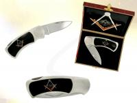 Ref-2230  Couteau de collection Franc-Ma�on