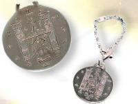 Ref-908  Cadeau maçonnique Porte clefs HIRAM