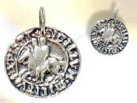 Ref-965  Médaille Templière
