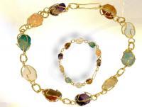 Ref-1768  Bracelet cage dorée