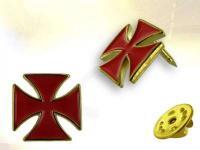 Ref-3166 Pins croix Templière