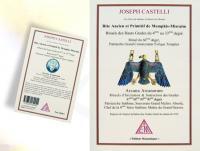 Ref-1140  Livre maçonnique Rite Ancien et Primitif