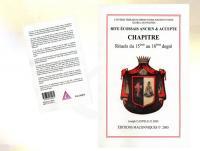 Ref-1024  Livre maçonnique RITE ECOSSAIS ANCIEN & ACCEPTE