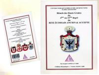 Ref-1030  Livre maçonnique Rituels des Hauts Grades du 4ème au 33ème