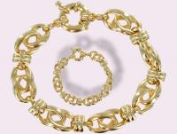 Ref-1244  Bracelet plaqué OR